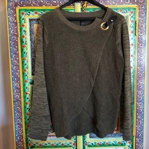 INC heathered long sleeve sweater Size XL NWT